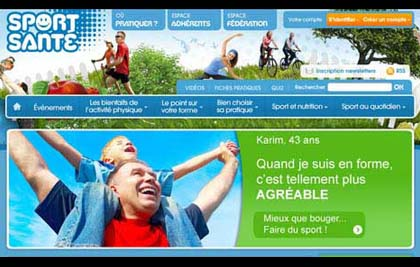 SPORT-SANTE - CONCEPTION DU SITE, REDACTION