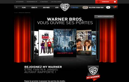 WARNER BROS - CLUB ABONNES